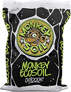 MONKEY SOIL Tierra para Plantas Marihuana 50L Exterior/