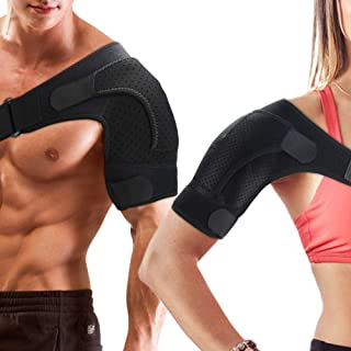 Compression Sleeve Shoulder Support Brace for Women and Men, Pain Relief for Torn Rotator Cuff,Tendinitis,AC Joint,Arthritis