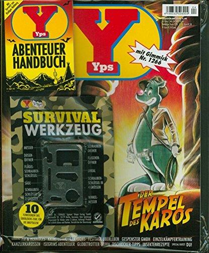 Nagelneues YPS Heft 04/2014 mit Gimmick Nr. 1266 Survival Werkzeug & Abenteuer Handbuch OVP neu