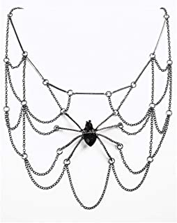 Forum Novelties Witches and Wizards Spider Web Body Jewelry