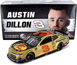 Lionel Racing Austin Dillon 2019 RCR 50th Anniversary Gold Bass Pro Shops NASCAR Diecast Car 1:24 Scale