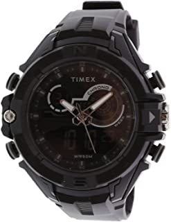 Timex Men's Digital Watch, Analog-Digital Display and Resin Strap TW5M23300