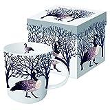 Paperproducts Design Winter Solstice Goose Porcelain Gift Boxed Mug, 400ml, Multi-Colour