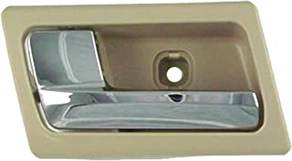 Dorman 81724 Ford Crown Victoria/Grand Marquis Front Driver Side Beige/Chrome Interior Replacement Door Handle