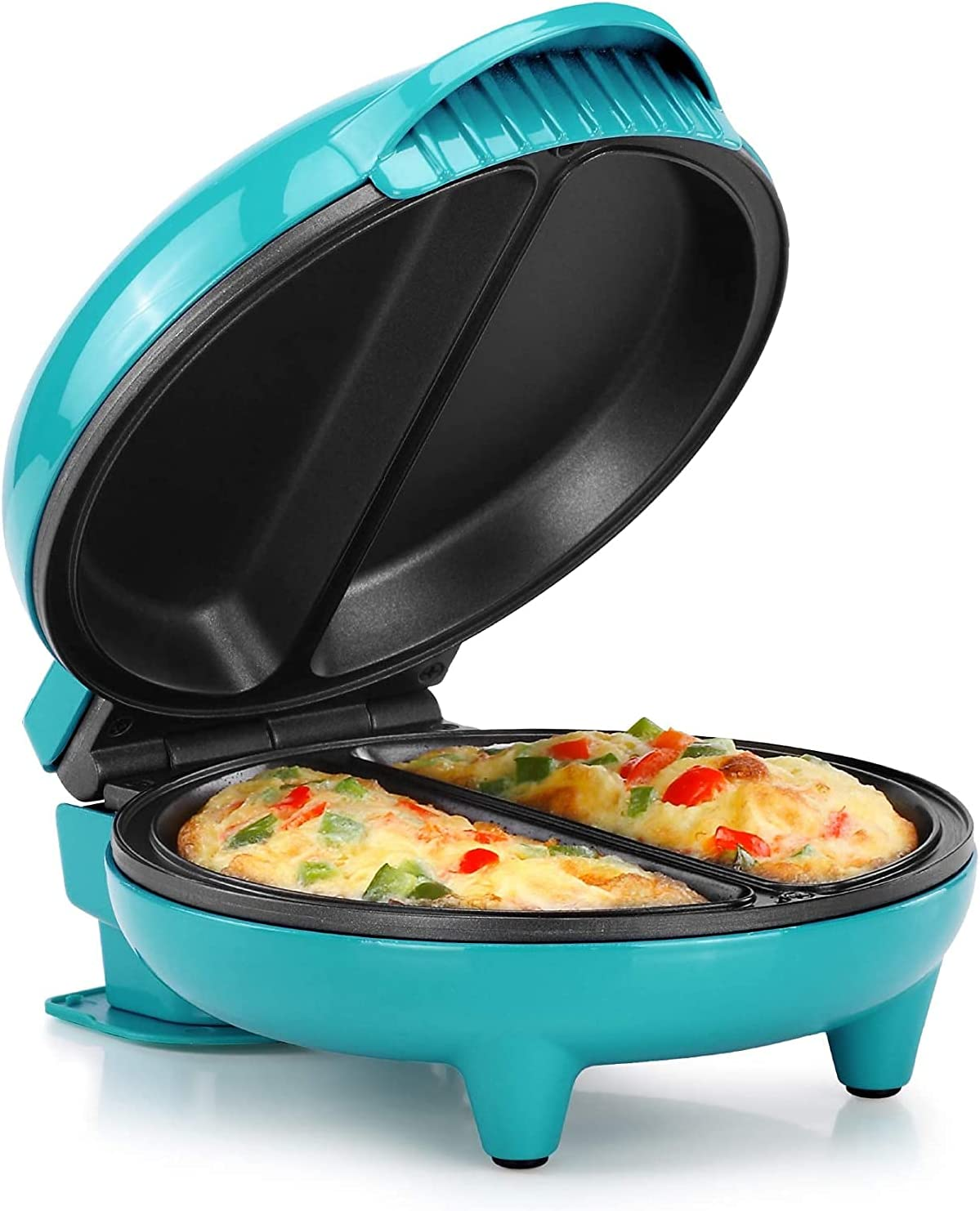 Holstein Seattle Mall Reservation Housewares HH-09125007E Omelet 1 Maker Teal. Pack
