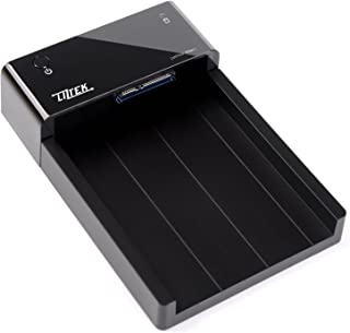 Liztek HDDS1BS USB 3.0 Super Speed to SATA Single Bay External Hard Drive Docking Station for 2.5 and 3.5 inch Hard Drives