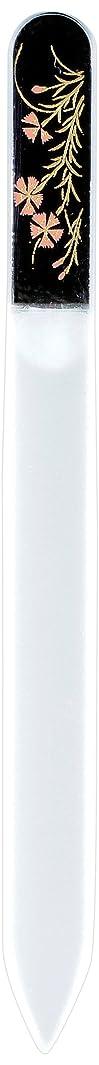 去る顕微鏡ミサイル橋本漆芸 ブラジェク製高級爪ヤスリ 八月 撫子 OPP