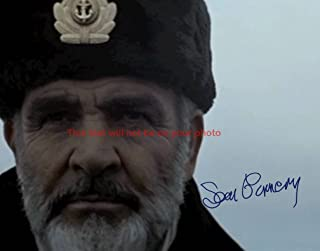 Sean Connery The Hunt for Red October Autographed 11x14 Poster Photo
