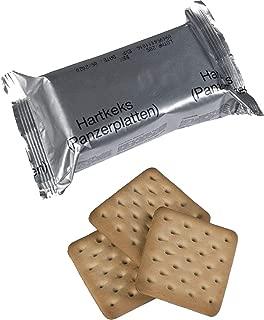 x4 Genuine German Army Survival Food Pack Outdoor Hardtack Biscuits 125 grams NATO MRE Crackers 4 Packs