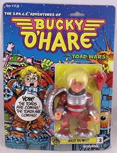 Bucky O'Hare - Willy Du Witt by Hasbro