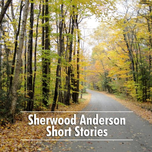 Sherwood Anderson Short Stories audiobook cover art