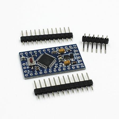 HiLetgo ATMEGA328P 3.3V/8M Arduino PROミニ 互換性のある開発ボード改良版 (3.3V) (2個セット)