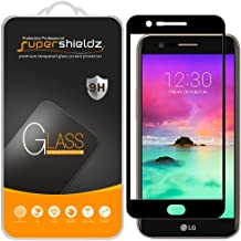 (2 Pack) Supershieldz for LG K20 (AT&T) Tempered Glass Screen Protector, (Full Screen Coverage) Anti Scratch, Bubble Free (Black)