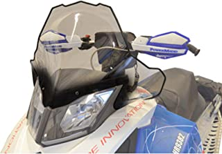Cobra Windshield - 17.5in. - Clear with Black Fade 2014 Ski-Doo Renegade Backcountry X E-TEC 600 HO Snowmobile