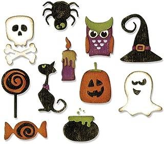 Sizzix THoltz Thinlits Die Mini Halloween Things DieMiniHalloweenThing