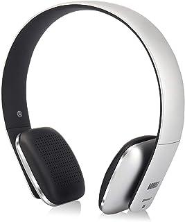 August EP636S – Audífonos Bluetooth Inalámbricos NFC – Cómodos Auriculares On-ear con Almohadillas de Cuero, Micrófono, Ba...