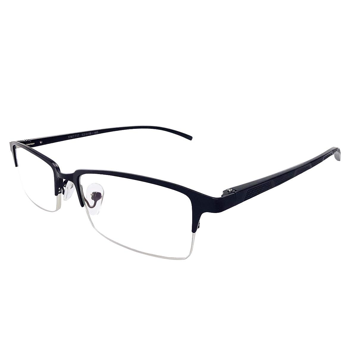 WINTER PLUM Reading Glasse,Blue Light Blocking Computer Glasses,Anti UV Glare Harmful for Men and Women(7717/Black)
