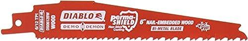 "2021 Freud DS0612BW25 Demo online sale Demon online sale Bi-Metal Reciprocating Blade, 6"" sale"