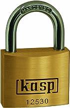 Kasp K12530 Premium Brass Padlock-30mm, 30 mm