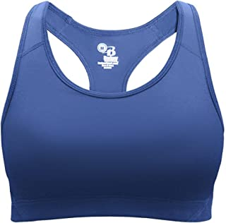 Sports Performance Bra Top Moisture Wicking Stretch Body Fit (Available in 7 Colors and 11 Girls/Ladies Sizes)