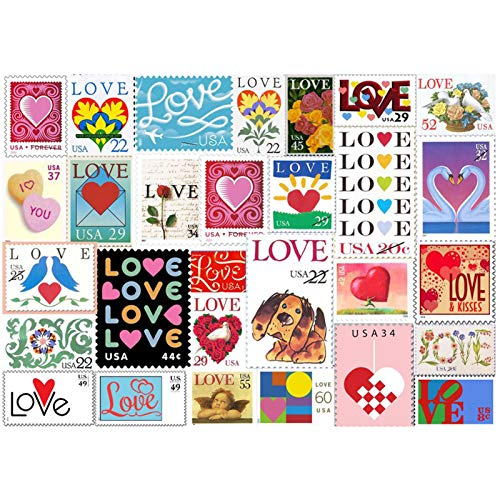 Rompecabezas de madera con sellos de amor de 500/1000 piezas para ejercicios cerebrales para adultos y niños