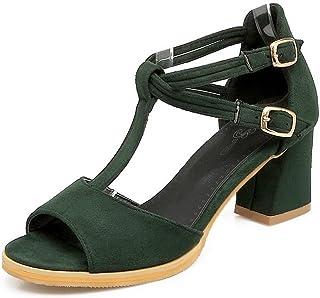 BalaMasa Womens Huarache Cold Lining Soft-Toe Urethane Sandals ASL04906