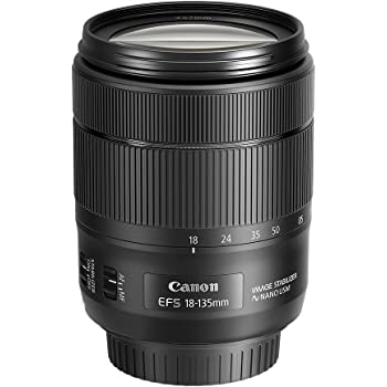 Canon EF-S 18-135mm f/3.5-5.6 Image Stabilization USM Lens (Black) (Renewed)