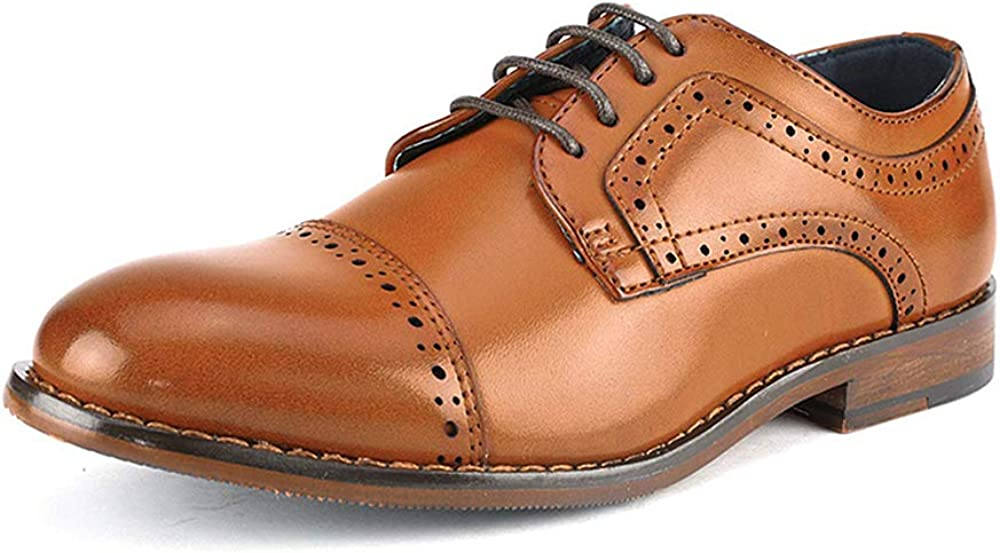Bruno Selling Marc Boy's Prince-K Dress Classic Shoes Kansas City Mall Oxfords