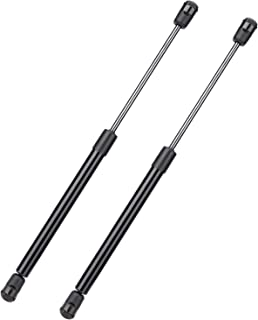 1 Pair Acouto Black Rear Tailgate Hood Gas Struts Lift Spring Support Lifters for Porsche Boxster 97-04 98651295100