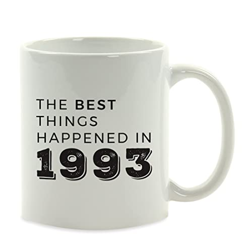 Birthday Milestone Coffee Mug Gift The Best Things Happened In 1993