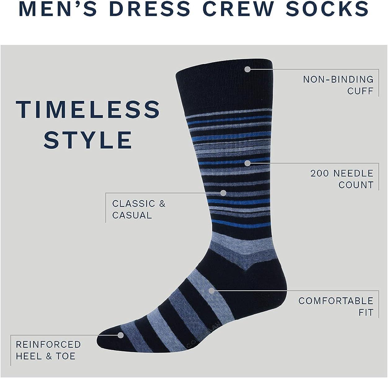 Cole Haan Men's Socks - 6 Pack Classic Argyle Crew