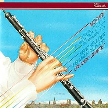 Mozart: Oboe Quartet; Divertimento No. 11; Adagio In C; Nannerl-Septett