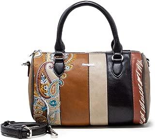 Luxury Fashion | Desigual Womens 19WAXPCSBROWN Brown Handbag | Fall Winter 19