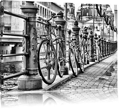 Bike Station, BMX-parcours spoorFoto Canvas | Maat: 100x70 cm | Wanddecoraties | Kunstdruk | Volledig gemonteerd