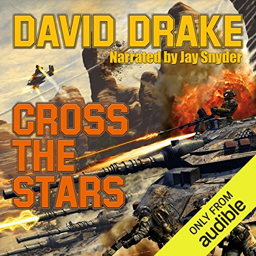 Cross the Stars audiobook cover art