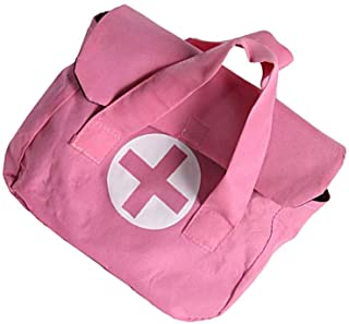 "Storybook Wishes Pretend Play Toy Doctor Medical Bag, Small 7"" x 5"", Pink"
