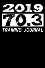 2019 - 70,3 Training Journal: Mileage Log Journal for your Triathlon training. Pre-printed easy layout to note the date, purpose, start and end distances, total miles and notes.