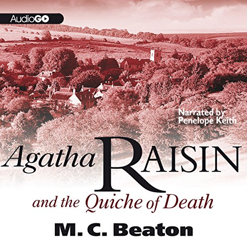 Agatha Raisin and the Quiche of Death audiobook cover art