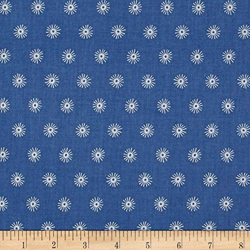 Cotton + Steel Kujira & Star Sea Urchin Marine, Quilting Fabric by the Yard