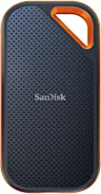 SanDisk 500GB Extreme PRO Portable External SSD - Up to 1050MB/s - USB-C, USB 3.1 - SDSSDE80-500G-A25