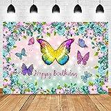 Hintergründe Traumhintergr& für Fotografie Cartoon Decor Crown Flower Butterfly Star Brilliant Party Portrait of Newborn Child-150x220cm
