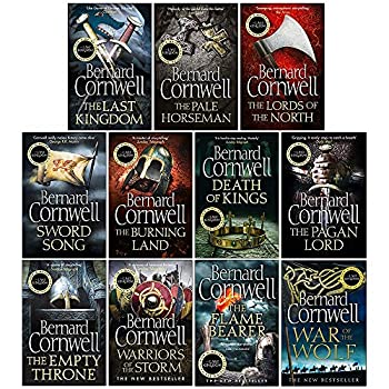 The Last Kingdom Series 11 Books Collection Set  1-11  Death of Kings,Warriors of the Storm,The Pagan Lord,The Empty Throne,The Last Kingdom,The Lord of the North,Sword Song,The Burning Land...