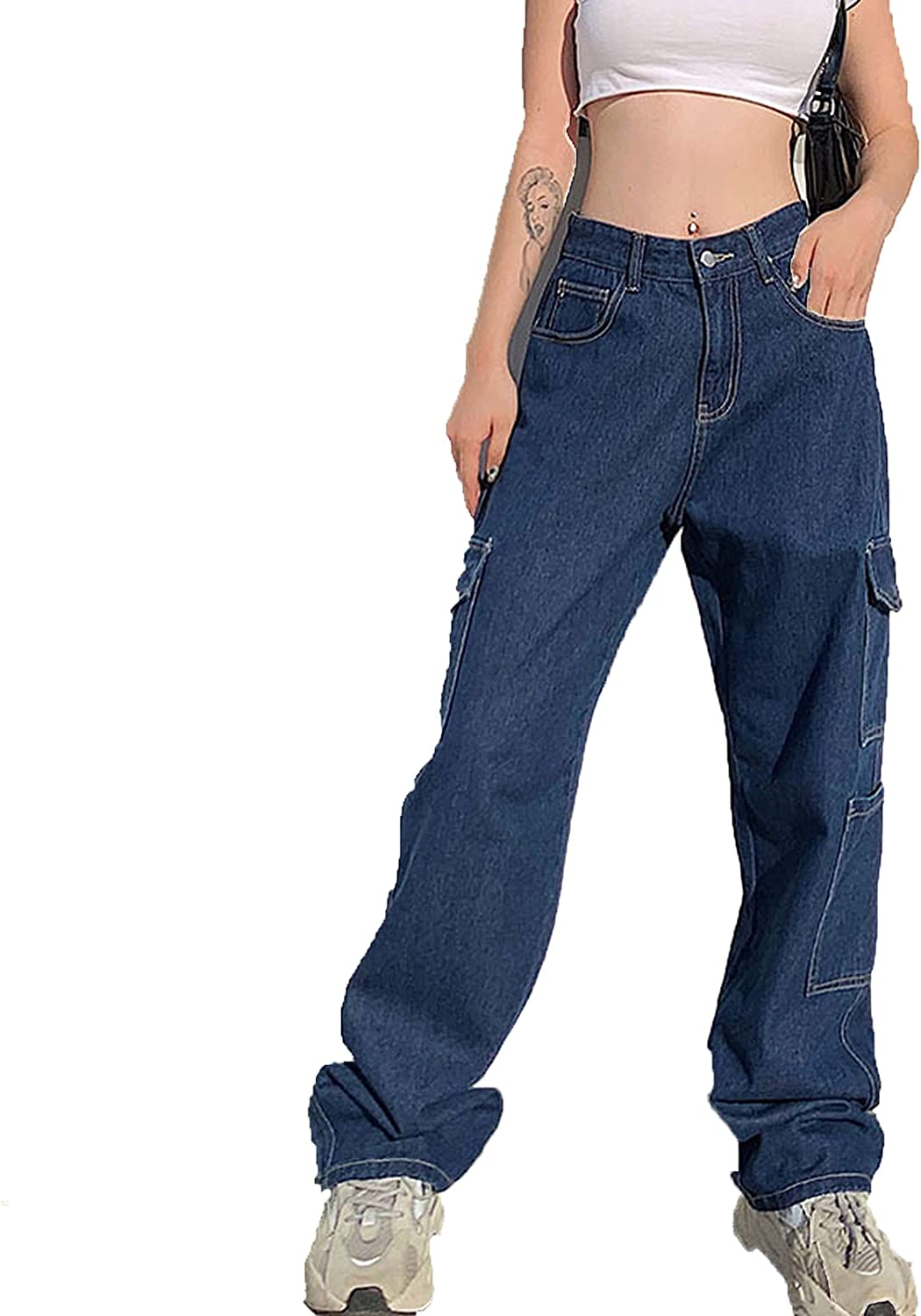 swimstore Fashion Loose Jeans Casual Work Je Hop Hip NEW before selling ☆ Sale SALE% OFF Women Pants