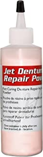 Lang Dental Jet Denture Repair Powder - Pink - 4 oz.