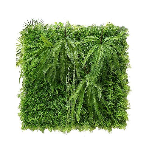 WXQIANG Artificial Fence Privacy Screen Evergreen Hedge Panels Gefälschte Pflanzen Wand 20