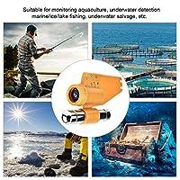 魚群探知機カメラ水中カメラAbsカメラハウジング12個の明るい白色LED水中探索用ライト(30 meter noodle, Blue)