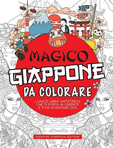 Magico Giappone da colorare. Ediz. illustrata