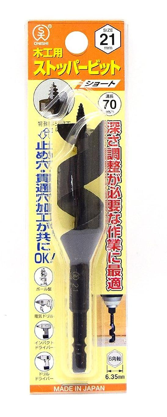 ホイップブロンズ床大西工業  ストッパービット(NO.1-S) 21mm