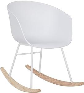 SKLUM Chaise à Bascule Yäh Blanc - (Plus de Couleurs)