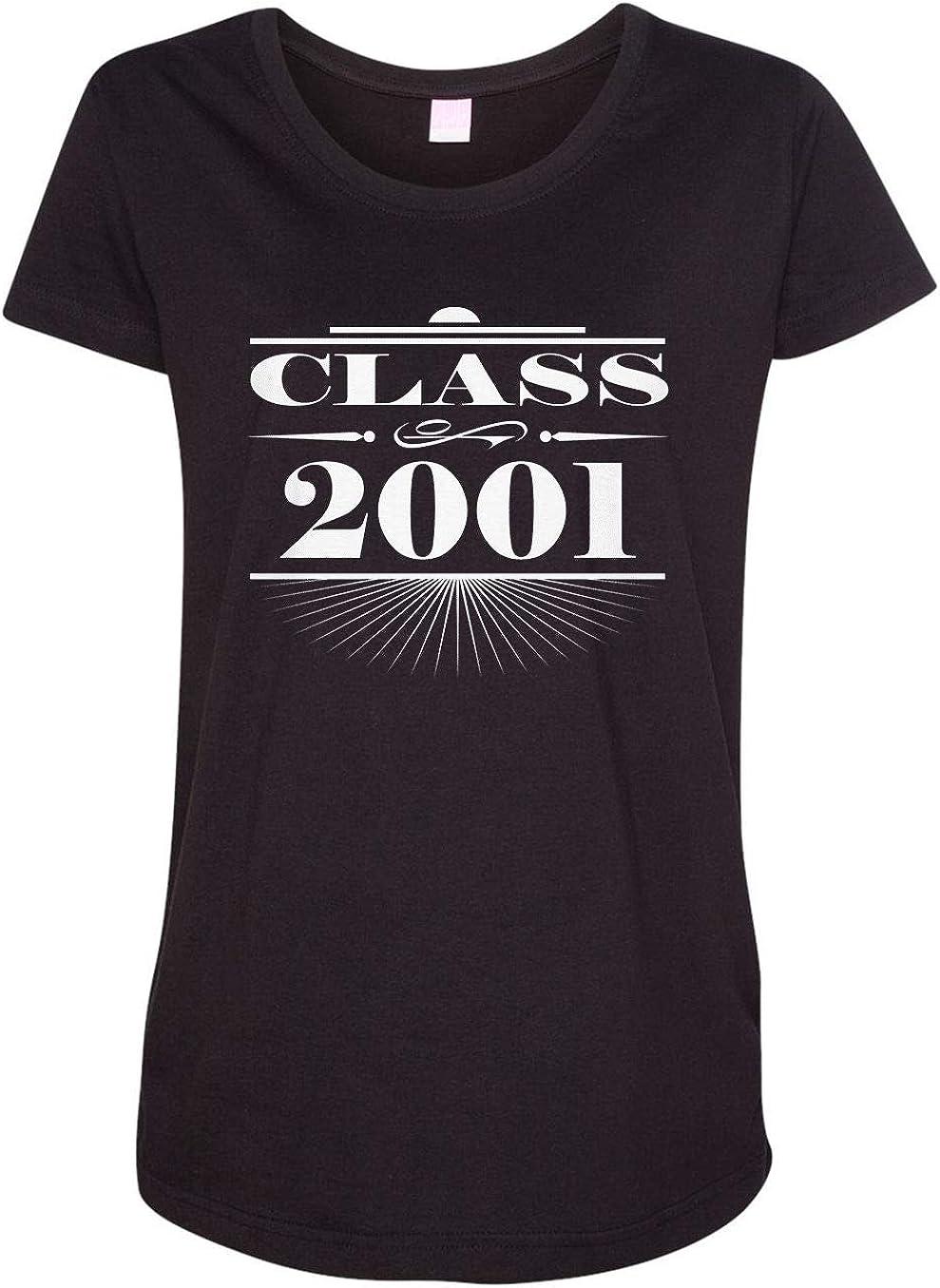 HARD EDGE DESIGN Women's Art Deco Class of 2001 T-Shirt